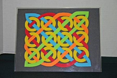 Easy Paper Crafts Celtic Designs 12 Circles Yellow