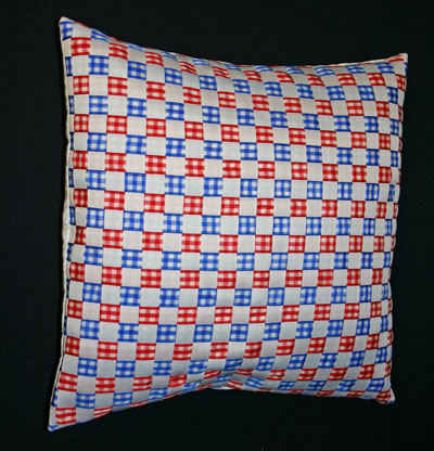 frugal fun crafts woven ribbon pillow cover
