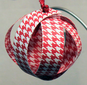 Paper Sphere Ornament