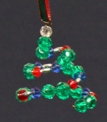 How to Make Beaded Wreath Ornaments - Online Craft
