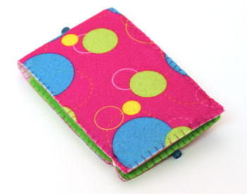 Easy Felt Crafts Notepad Cover2 finished back