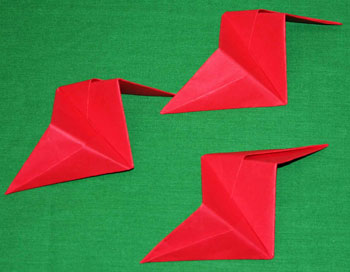 Easy paper crafts folded box ornament step 17