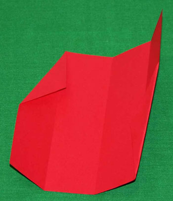 Easy paper crafts folded box ornament step 5