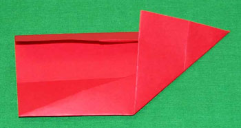 Easy paper crafts folded box ornament step 7