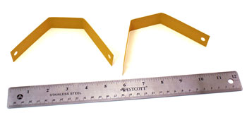 Paper Strips Angel Ornament step 4 bend 8 inch strips