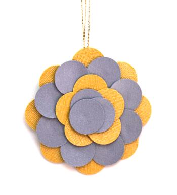Round Paper Circles Ornament