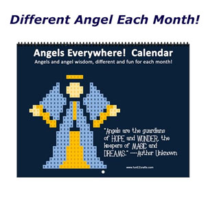 Angels Everywhere Calendar - Different Angels Each Month!