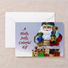 Jolly Santa Claus Greeting Cards from funEZ Bazaar