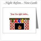 Twas the night before Christmas Note Cards on the funEZ Bazaar