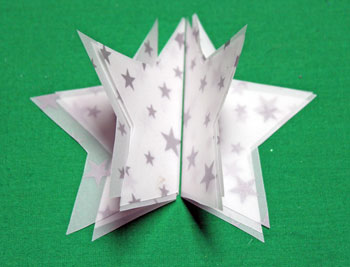 Vellum Ornament step 9 position 3 shapes each back to back